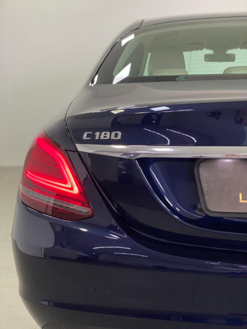 Mercedes c-180 2020 c/500km. igual a zerokm. léo careta veículos - Foto 8