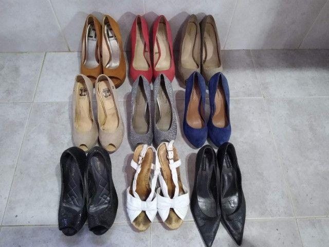 Coleção Sandalias de Salto - Várias Marcas - Foto 4