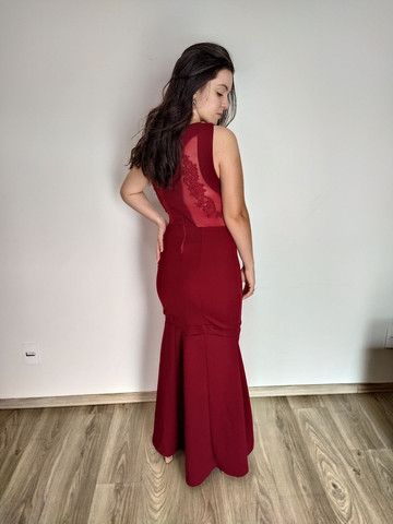 Vestido de festa marsala (36/38) - temos outros modelos disponíveis - Foto 5