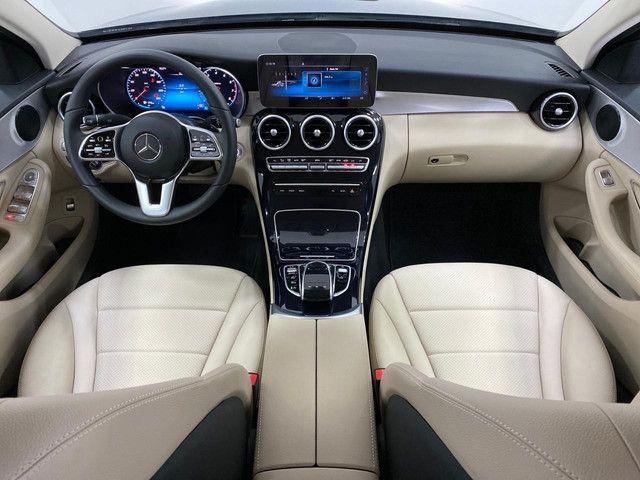 Mercedes c-180 2020 c/500km. igual a zerokm. léo careta veículos - Foto 13