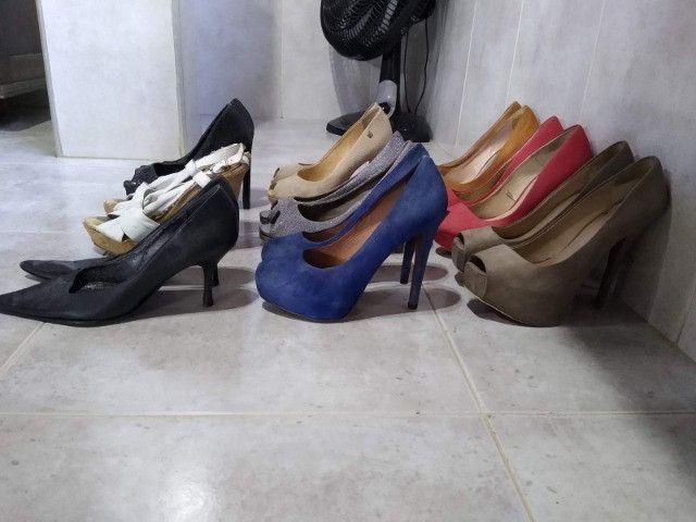 Coleção Sandalias de Salto - Várias Marcas - Foto 5