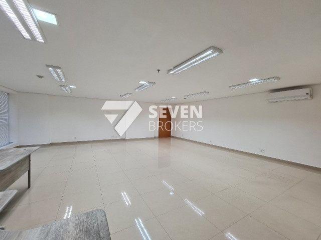 Sala com 91m2 no Edifício Atlantic Tower, Av. Djalma Batista, pronto para usar - Foto 2