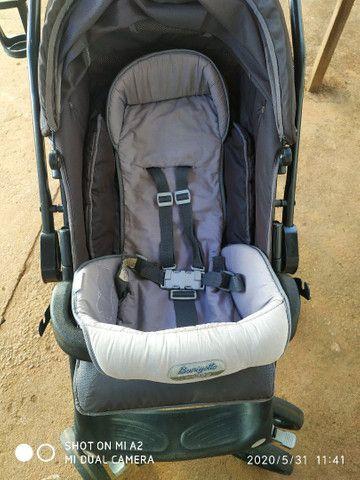 Carrinho de bebê, super conservado usado poucas vezes - Foto 5