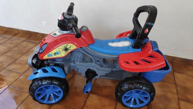 Motoca que vira Triciclo METADE DO PREÇO - Foto 7
