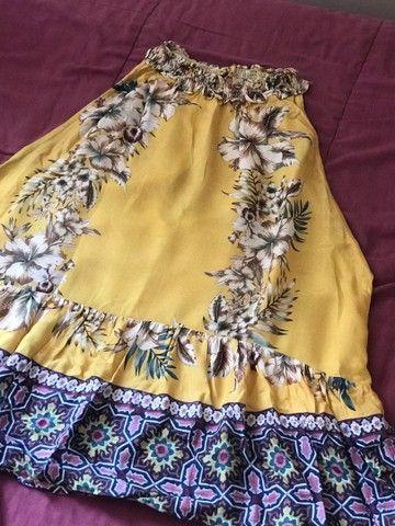 Blusa farm floral