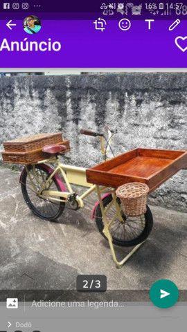 Bike de carga para eventos
