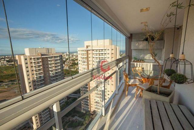 Apartamento com 2 dormitórios à venda, 63 m² por R$ 310.000,00 - Glória - Macaé/RJ - Foto 15