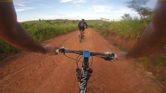 Velocimetro GPS Bike Bicicleta Noturna Xoss G+ Plus Bluetooth/Strava Lacrado 10x Sem Juros