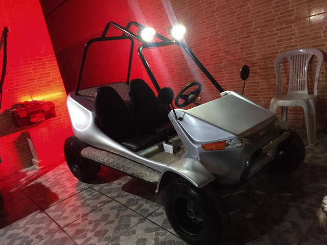 Mini Buggy Fapinha alongado 4t, Ac troc