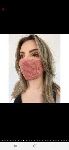 Mascara de tricô - TOP das blogueiras - Foto 5