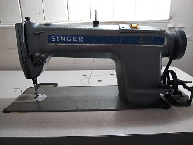 Máquina semi industrial, costura reta  - Foto 2