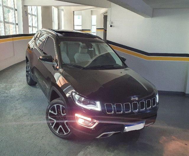 Jeep Compass Limited Diesel com Teto Solar, Park Assist (estaciona sozinho), 18/18