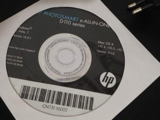 Impressora HP D110 series - Foto 3