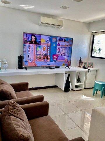 Apartamento para venda possui 200 metros quadrados com 3 suites mais dce.Ponta Verde - Mac - Foto 7