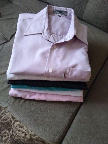 Lote camisas Tam 3 adulto