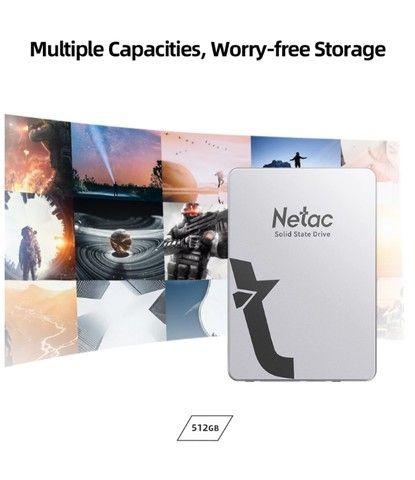 ssd 512GB Netac - Novo - Foto 3