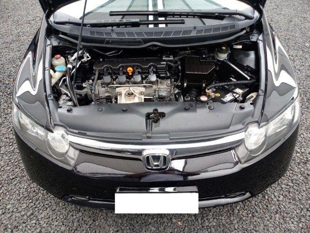 Honda Civic lxl 1.8 cinza 16v flex 4p aut. - Foto 6