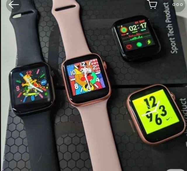 Relógio inteligente x7 atualizado faz e recebe ligações