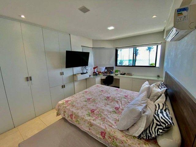 Apartamento para venda possui 200 metros quadrados com 3 suites mais dce.Ponta Verde - Mac - Foto 8
