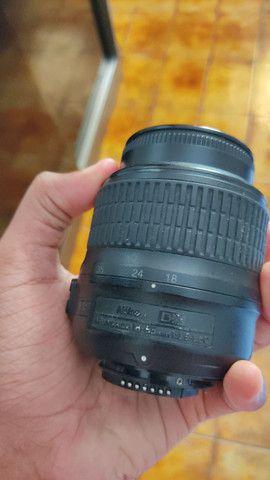 Nikon D3000 com lente do kit e 50mm 1.8 - Foto 2