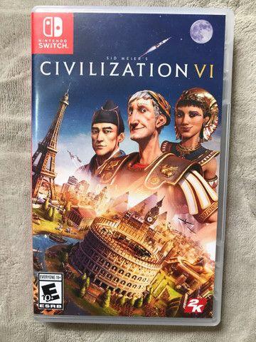 Civilization VI mídia física - Nintendo Switch