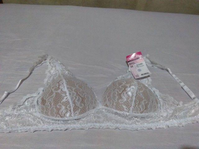 Sutiã demillus branco  - Foto 2