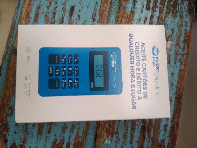 Máquina de cartão de débito e crédito - Foto 2