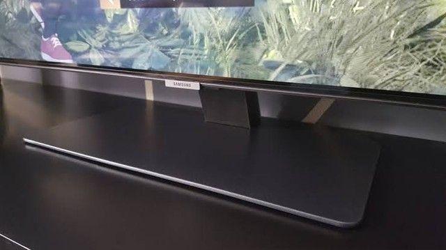 "Samsung Smart TV QLED 4K Q80T 55"", Pontos Quânticos , Borda Infinita. 120 hz Hdmi 2.1.  - Foto 4"