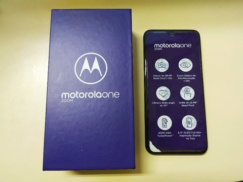 Motorola One Zoom Titanium