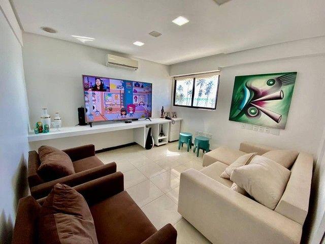 Apartamento para venda possui 200 metros quadrados com 3 suites mais dce.Ponta Verde - Mac - Foto 5