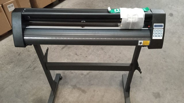 Plotter de recorte semi-industrial profissional com instalação - Foto 2