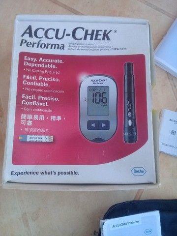Aparelho. De medir diabetes