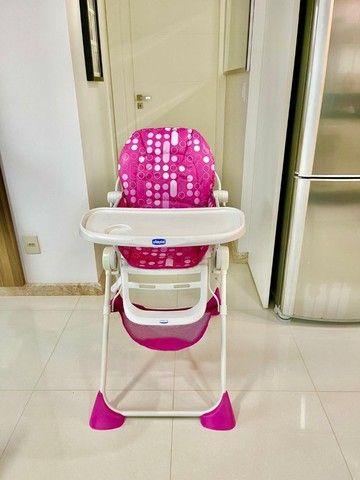 Cadeira alimentação Pocket Lunch pink  Chicco - Foto 6