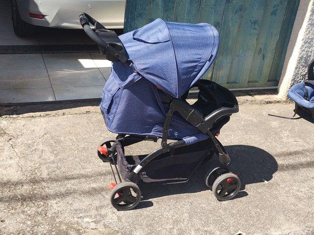 Carrinho bebê conforto completo marca cosco - Foto 4
