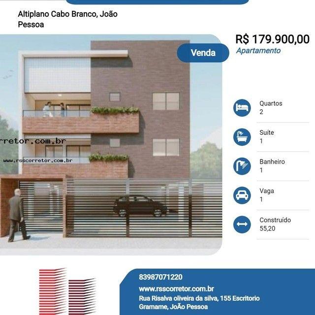 Apartamento para Venda em João Pessoa, Altiplano Cabo Branco, 2 dormitórios, 1 suíte, 1 ba