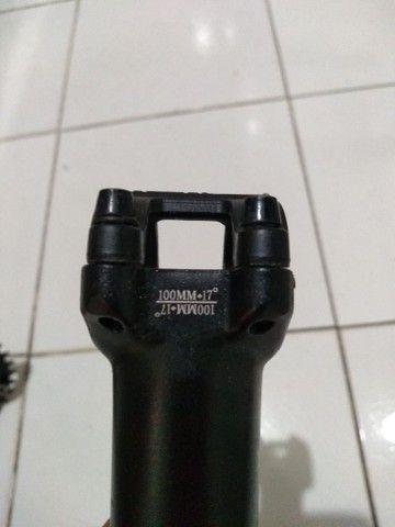 Suporte De Guidão Tsw 100mm +17°- Preto - 31.8 - Aheadset - Foto 2