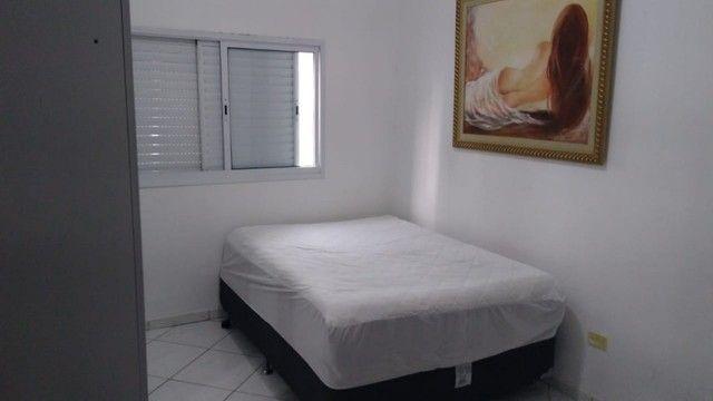 Lindo Apto 2 Dorm Semi-Mobiliado Na Vila Tupi Em Praia Grande - Foto 18