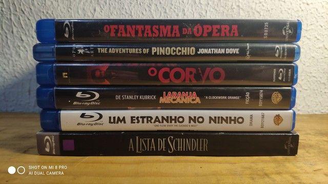 Bluray laranja mecânica/ aventure of Pinocchio/ o corvo / fantasma da opera - Foto 2