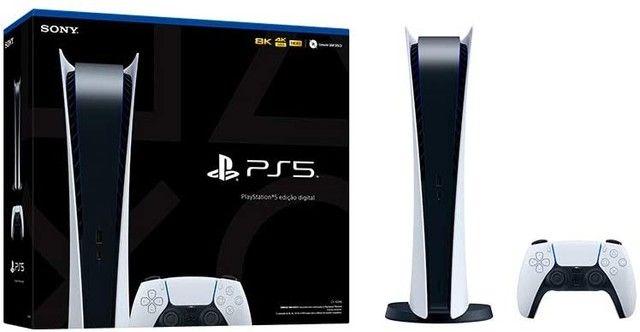 Lacrado Console PlayStation®5 Digital Edition - PS5 - Foto 3