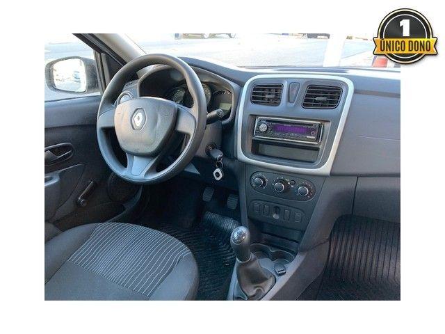 Renault Logan 2014 1.0 authentique 16v flex 4p manual - Foto 7