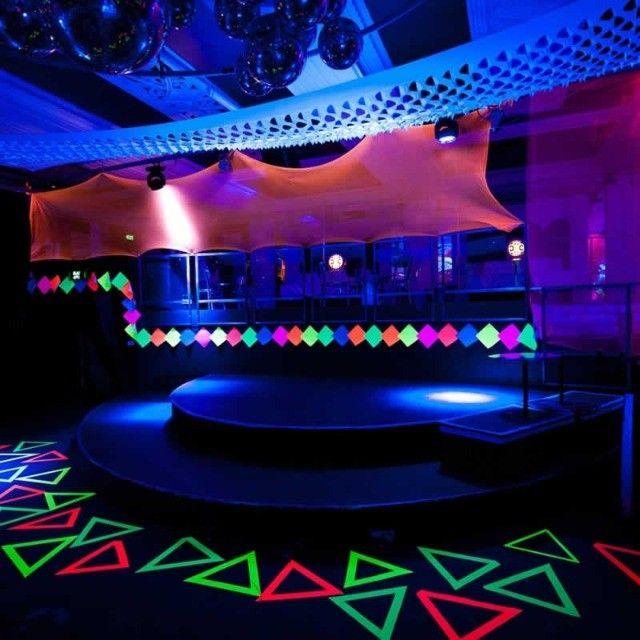 Lampada Luz Negra 25w 220v E27 Fluor Neon Uv Rave Dj fluor decoração - Foto 6