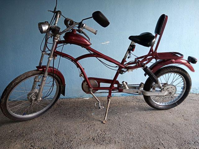 Linda bicicleta artesanal - Foto 3