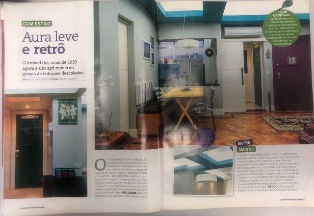Quarto e Sala de Revista 70m² na Glória Apartamento