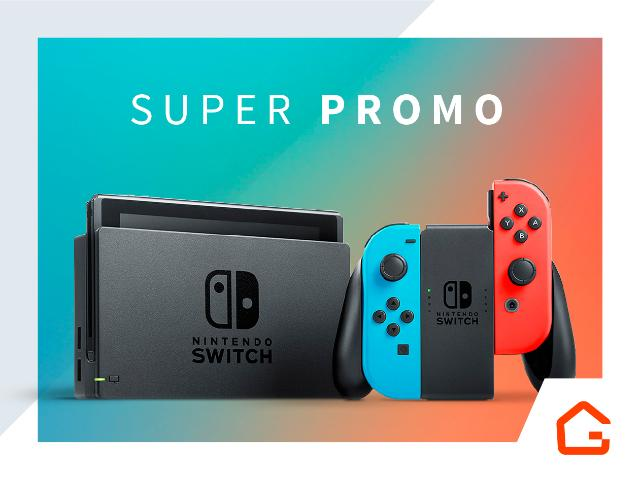 Lançamento Nintendo Switch 32Gb Entrega Porto Alegre - Grande POA e Região