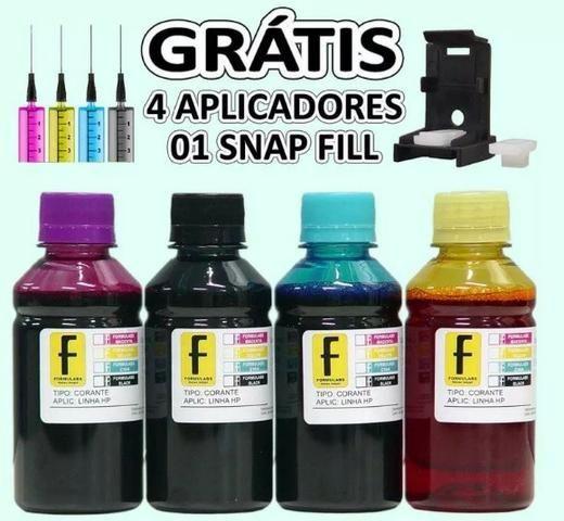 Tinta Corante para Impressora com Bulk Epson/ Canon / Hp ou Kit Recarga de Cartuchos - Foto 5