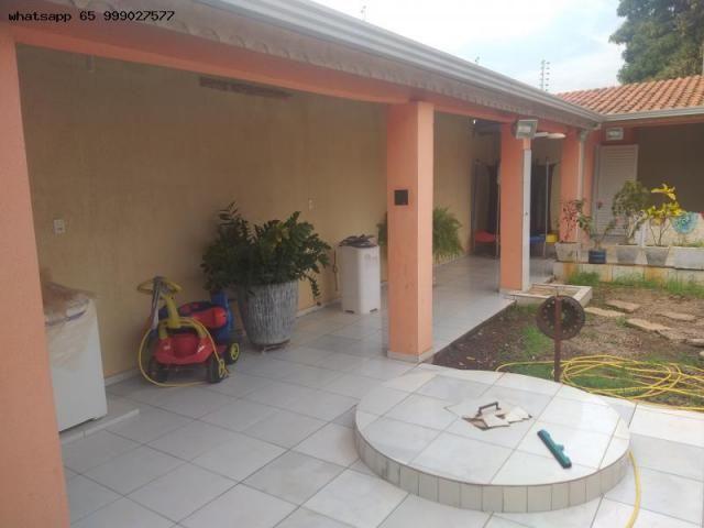 Casa para Venda em Várzea Grande, Ouro Verde, 3 dormitórios, 1 suíte, 3 banheiros, 4 vagas - Foto 13