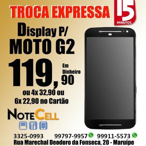 Tela do Moto G2