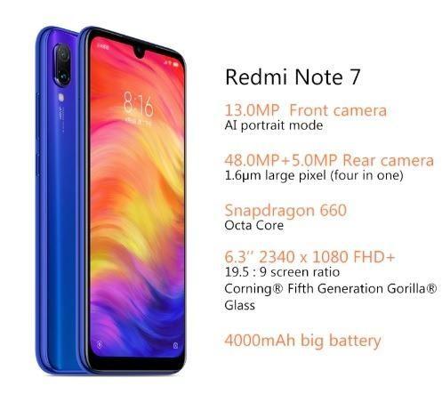 PROMOÇÃO Xiaomi Redmi Note 7 - Frete Grátis - 3x sem Juros - Novo, Original e c/ Garantia - Foto 3