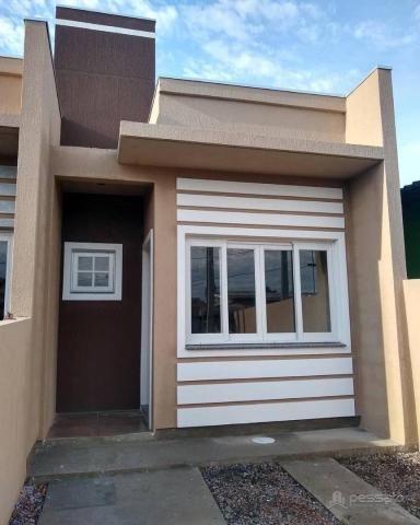 Casa com 2 dormitórios à venda, 50 m² por r$ 185.000 - bom sucesso - gravataí/rs