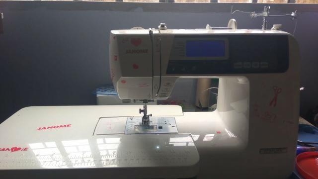 Máquina de costura eletrônica Janome 4120QDC
